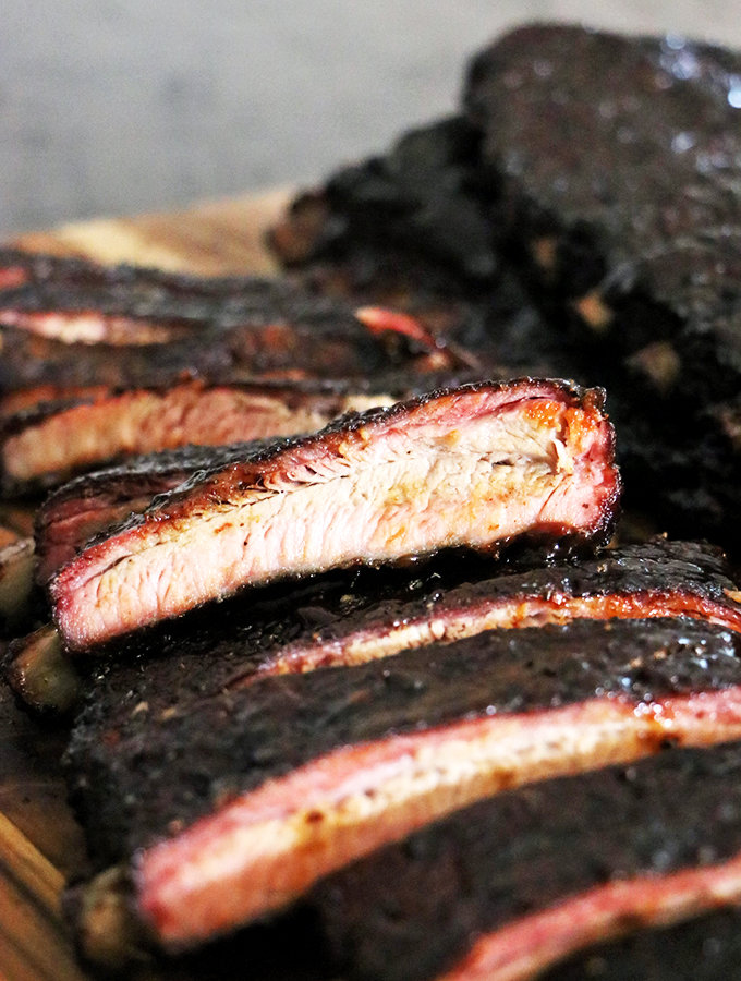 Asian BBQ Glazed St. Louis Style Ribs